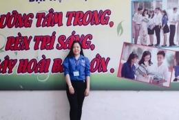 Chân dung em Phạm Kim Ngân -ấp Phước Định, xã Phước Thạnh, huyện Châu Thành, Tỉnh Bến Tre.